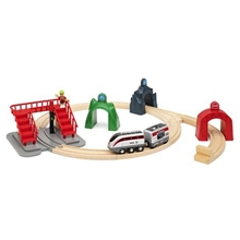 BRIO World 33873 Smart Tech Engine Action Tunnels