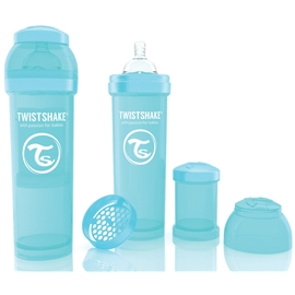 Twistshake Tuttipullo 330 ml Turkoosi