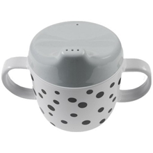 Done By Deer Spout Cup Happy Dots Grey