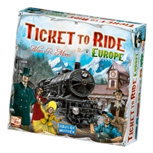 Ticket to Ride Europe (ruotsinkielinen)
