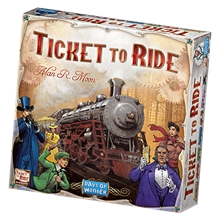 Ticket to Ride USA (ruotsinkielinen)