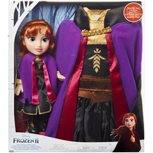 Frozen 2 Toddler Doll Anna + Mekko