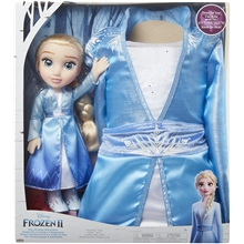 Frozen 2 Toddler Doll Elsa + Mekko