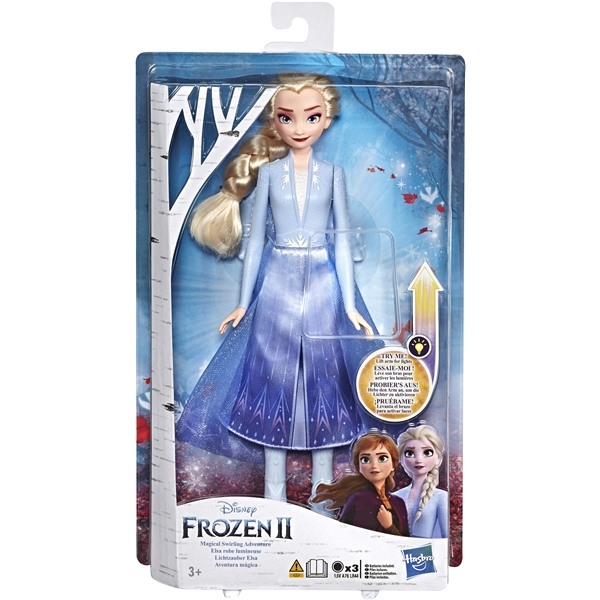 Disney Frozen 2 Light Up Fashion Doll Elsa (Kuva 1 tuotteesta 4)