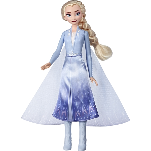 Disney Frozen 2 Light Up Fashion Doll Elsa (Kuva 2 tuotteesta 4)