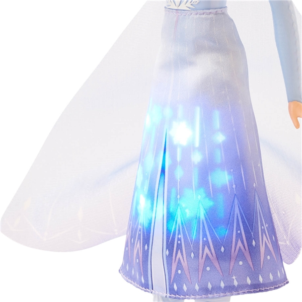 Disney Frozen 2 Light Up Fashion Doll Elsa (Kuva 4 tuotteesta 4)