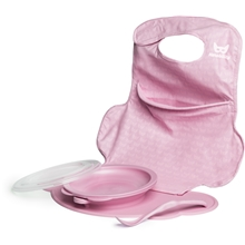 Herobility Eco Placemat Feeding Set Pink