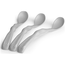 Herobility Eco Feeding Spoon 3 kpl Mist Grey