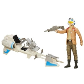 Star Wars Speeder Bike Poe Dameron