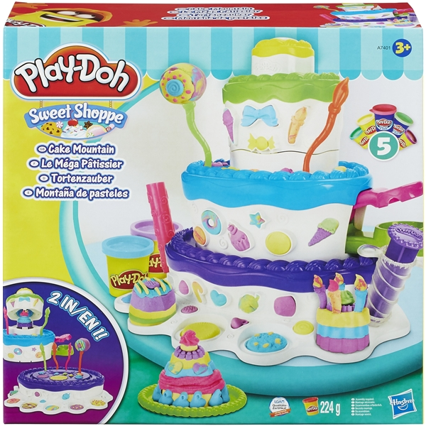 Play-Doh Sweet Shoppe Cake Mountain (Kuva 1 tuotteesta 4)