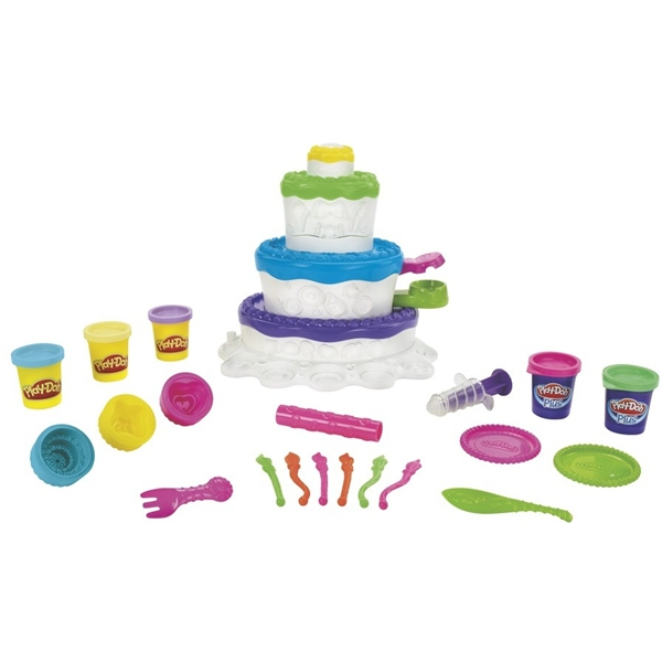 Play-Doh Sweet Shoppe Cake Mountain (Kuva 2 tuotteesta 4)