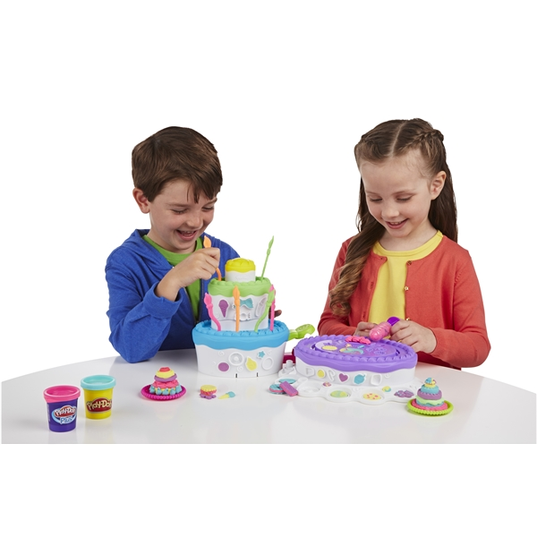 Play-Doh Sweet Shoppe Cake Mountain (Kuva 3 tuotteesta 4)