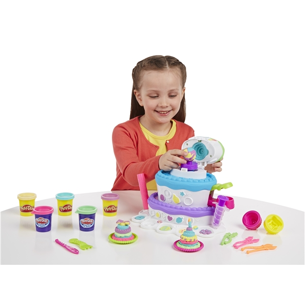 Play-Doh Sweet Shoppe Cake Mountain (Kuva 4 tuotteesta 4)