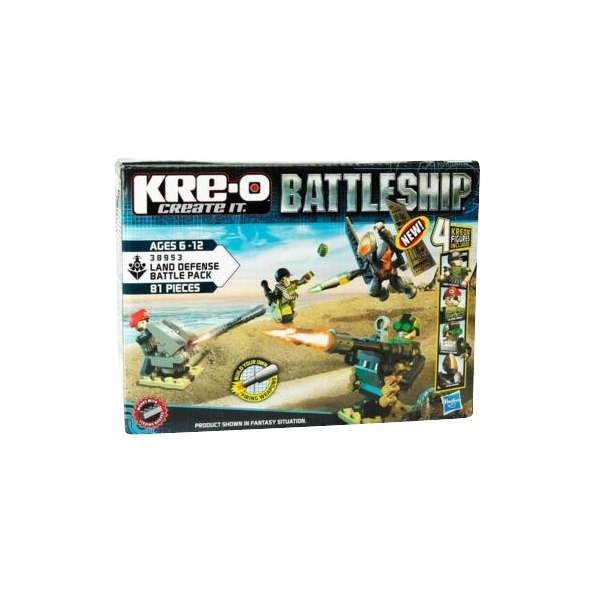 Kre-O Battleship Land Defense Battle Pack 38953 (Kuva 1 tuotteesta 3)