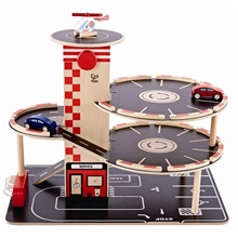 1 set - Hape Garage