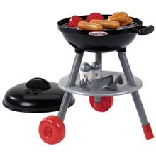 Ecoiffier Barbeque Grilli Musta