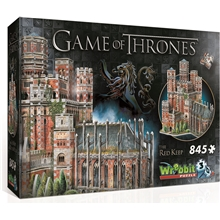 Wrebbit 3D-palapeli Game of Thrones Red Keep