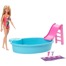 Barbie Nukke & Pool Lelu