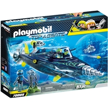 70005 Playmobil TEAM S.H.A.R.K Attackpora