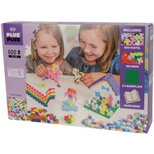 Plus Plus Learn to Build Pastel 600 Osaa