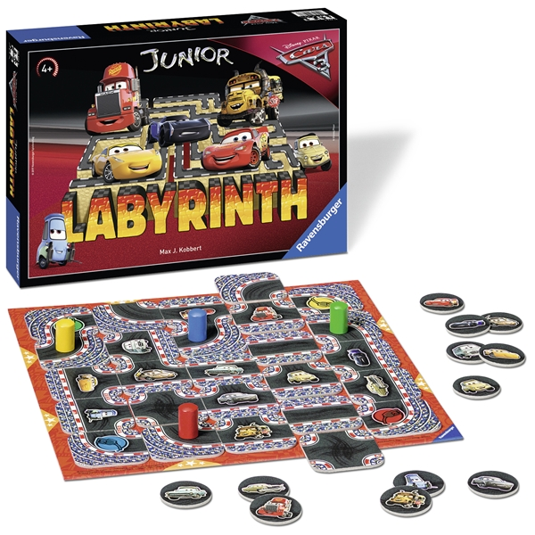 Cars 3 Junior Labyrint (Kuva 2 tuotteesta 2)
