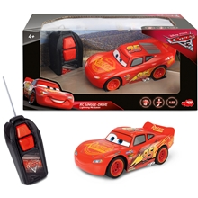 Disney Cars Radio-ohjattava McQueen Single