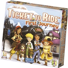 Ticket To Ride First Journey (Swe)