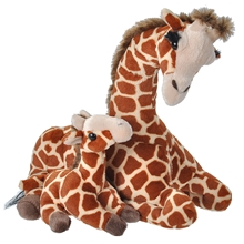 Wild Republic Mom & Baby Giraff 38 cm