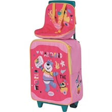 BABY born Holiday Trolley with Doll Seat