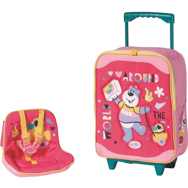 BABY born Holiday Trolley with Doll Seat (Kuva 4 tuotteesta 4)
