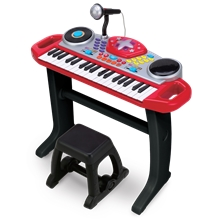 Music Keyboard Rock-stara setti